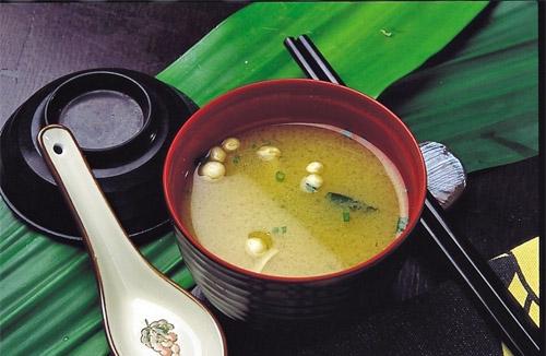 soupe miso japonaise wakame