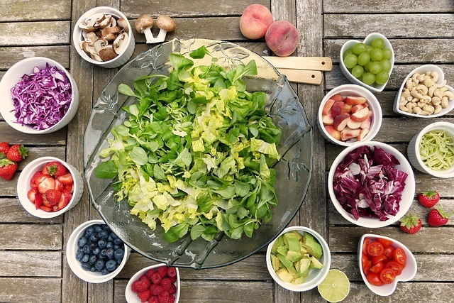 régime salade verte