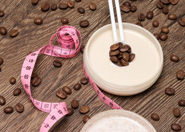 crème minceur à la caféine